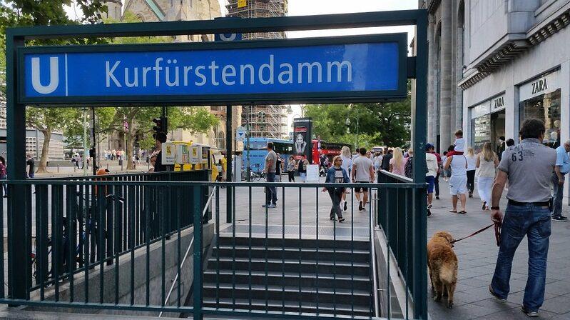 Kurfürstendamm, Berlin, Shopping, Einkaufsstraße, Passanten