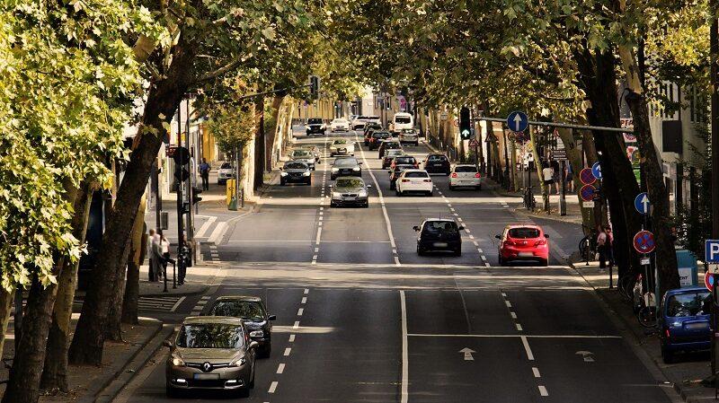 Autos Stadtverkehr