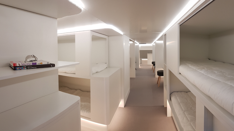 Crystal Cabin Award Airbus Schlafkabinen