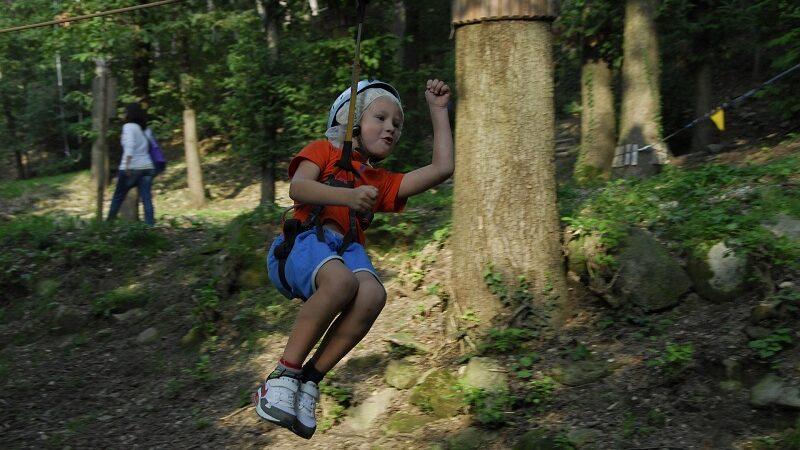 Freizeitpark, Erlebnispark, Kletterpark, Zipline, Familienurlaub