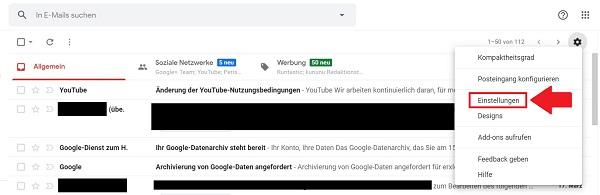 Gmail, Gmail-Spamfilter einstellen, Gmail Spam Filter erstellen, Google Mail, Google