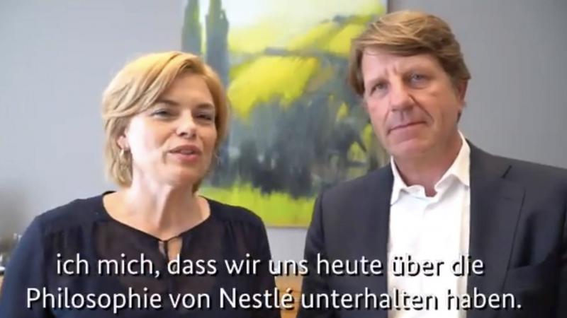 Schleichwerbung, Julia Klöckner, Ernährung, Nestlé, Werbung