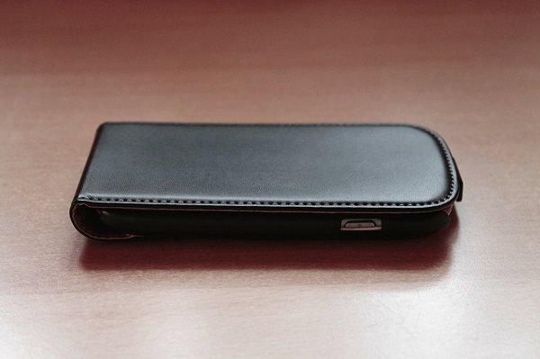 Smartphone, Smartphone-Hülle, Lederhülle, Smartphone-Akku