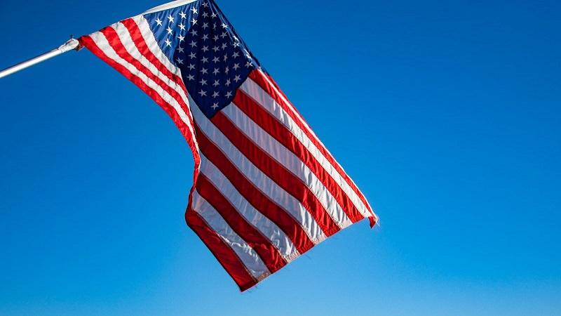 USA, US-Flagge, Fahne, United States of America, US-Visum