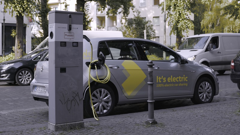 WeShare, Ladestation, Elektroauto laden