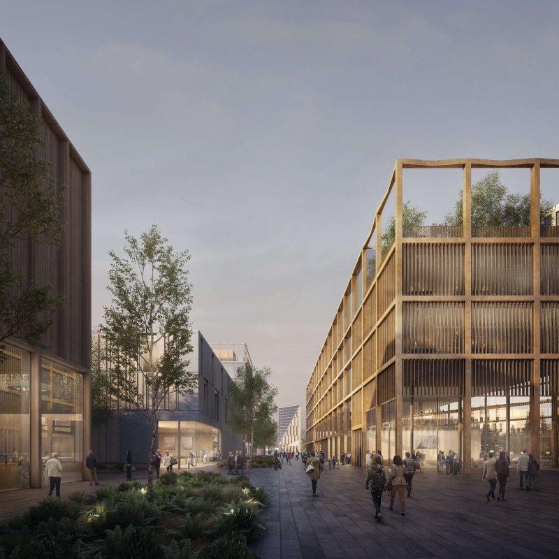 Oslo Airport City, Stadt, Nachhaltigkeit, Umwelt