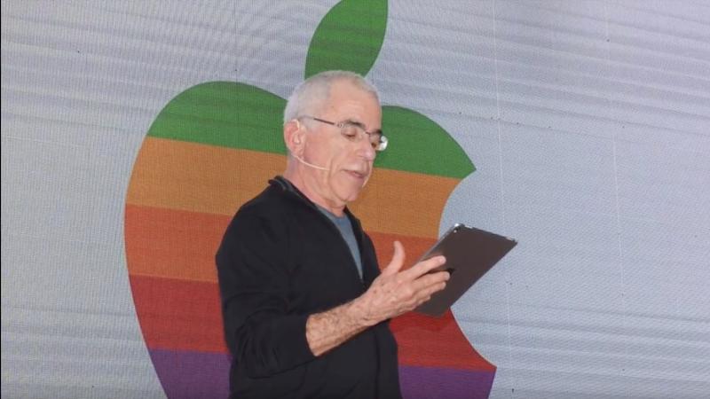 Apple, Apple-Logo, Regenbogen