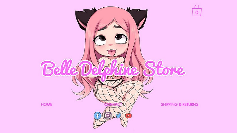 Belle Delphine, Influencer, Influencerin