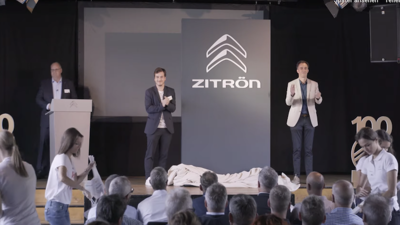 Citroën, Zitrön, Werbung, PR, Marketing