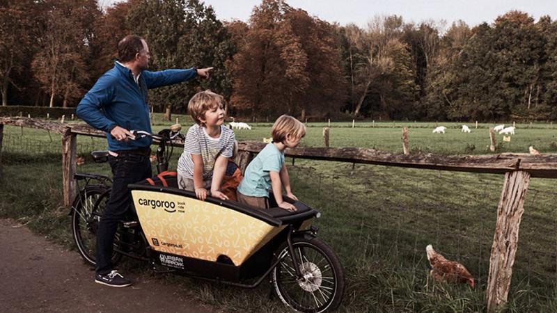 Cargoroo, Lastenrad, Cargobike, E-Bike