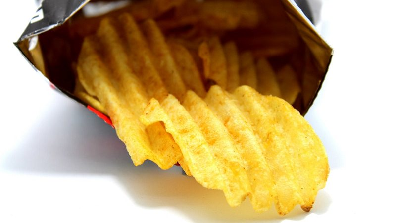 Chips, Riffelchips, Paprikachips, Chipspackung, Snacks, Amazon Prime im August