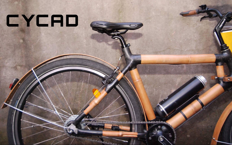 Cycad, Bambusrad, Fahrrad