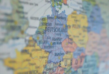 Deutschland, Deutschlandkarte, Karte, Atlas, Social-Media-Atlas