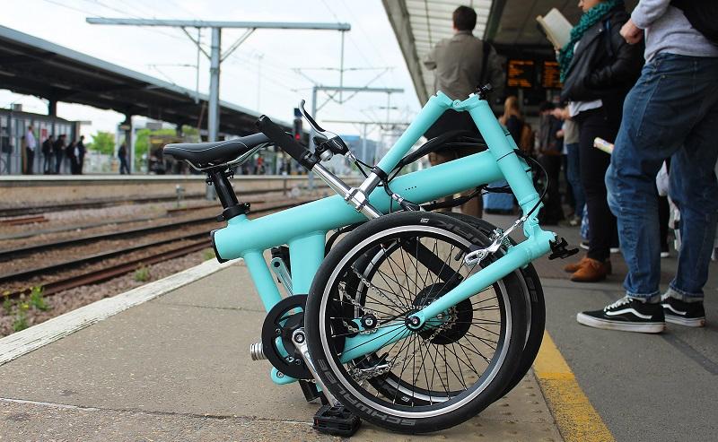 E-Bike. Klappbike, Flit 16