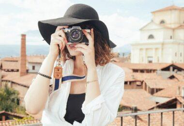 Fotografin, Fotografieren, Urlaub, Frau