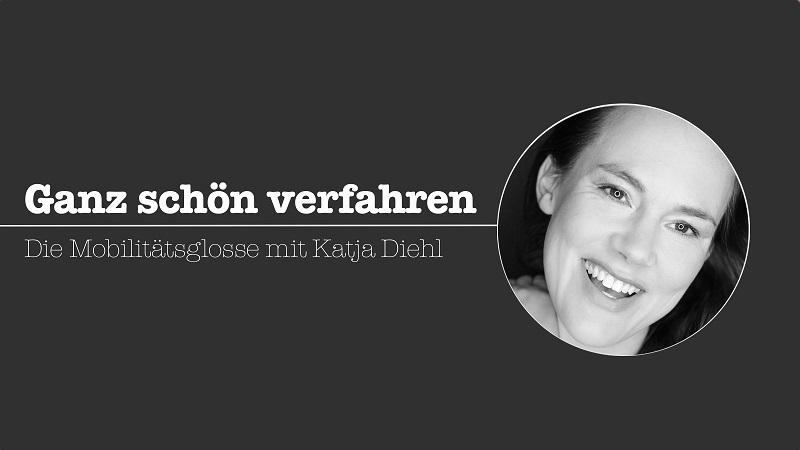 Katja Diehl, Mobilität, Glosse, Greta Thunberg