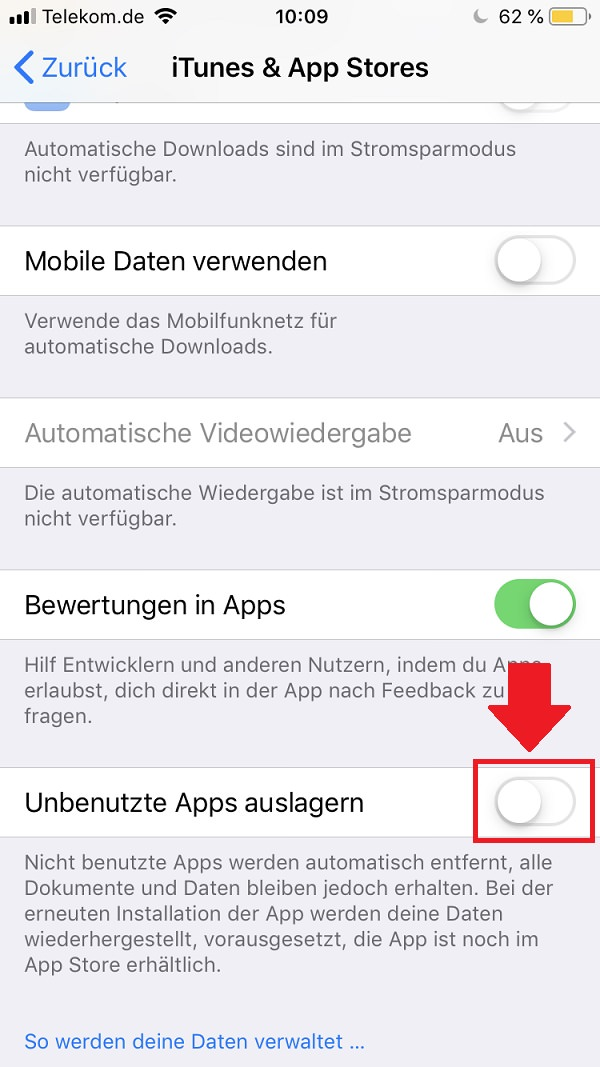 iPhone, iPhone 8, Apple, iPhone-Speicherplatz sparen, iPhone-Speicher leeren