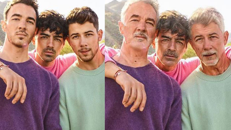 Jonas Brothers, Instagram, Faceapp, FaceApp