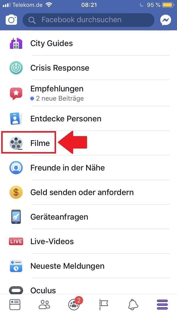 Facebook, Facebook-Apps, Kinotickets online kaufen, Kinotickets kaufen, Kinotickets auf Facebook kaufen