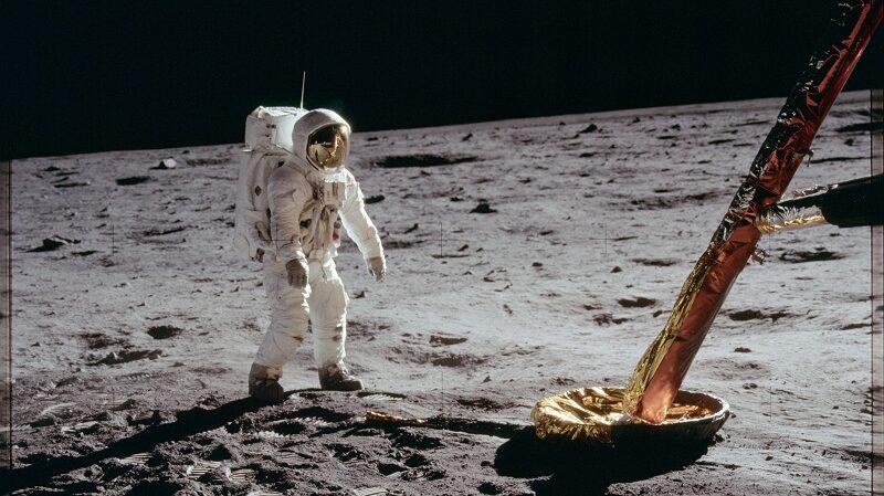 Mondlandung, Astronaut, Raumfahrt, Mond