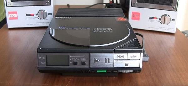 Sony Discman D-50, CD, CD-Spieler, tragbare Musik