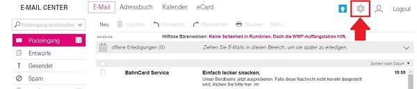 T-Online-Spamfilter einstellen, Spamschutz T-Online, Virenschutz T-Online, Telekom E-Mail