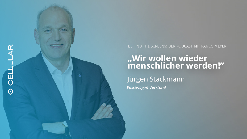 Jürgen Stackmann, Volkswagen, Panos Meyer, Behind the Screens, Podcast