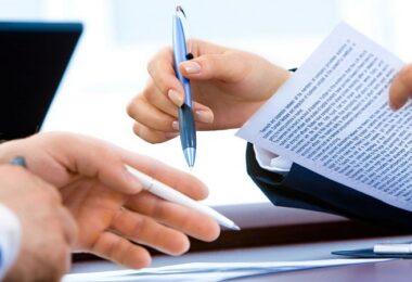Vertrag, Verhandlung, Gespräch, Diskussion, Unternehmenskaufvertrag