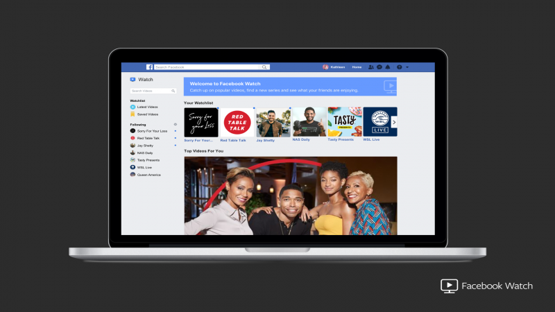 Facebook Watch, Facebook, Streaming, Social Media