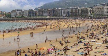 Strand, Touristen