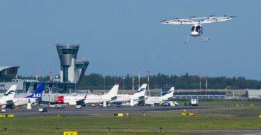Volocopter, Flugtaxi, Lufttaxi, Flughafen, Helsinki