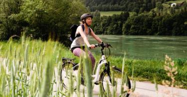 Radweg, Donauradweg, Fahrrad, Natur