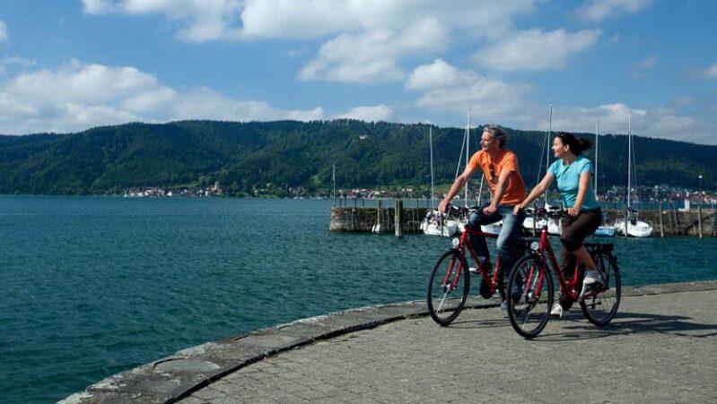 Bodensee, Königsee, Radweg