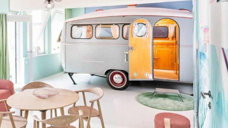 Caravan, Airbnb, Vanlife