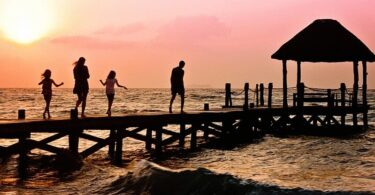 Familie, Urlaub, Strand
