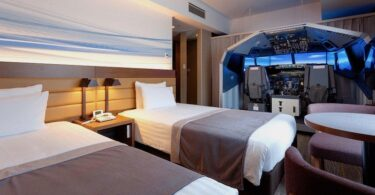 Haneda Excel Hotel Tokyu, Hotel, Flughafen, Flugsimulator
