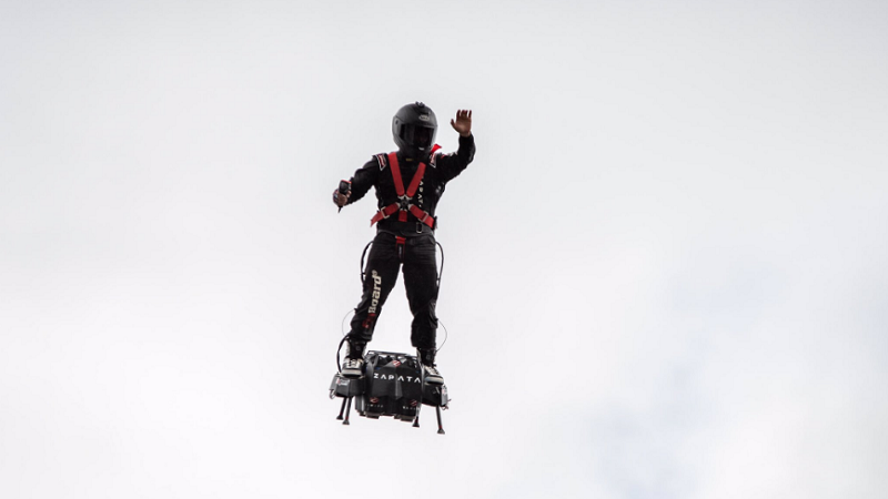 Franky Zapata, Flyboard, Flyboard Air, Hoverboard