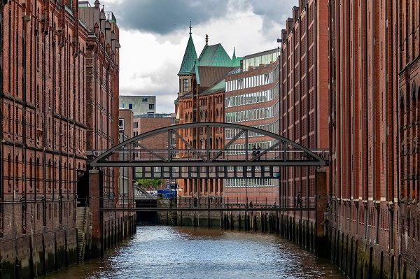 Hamburg, Speicherstadt, Hamburg Hafen