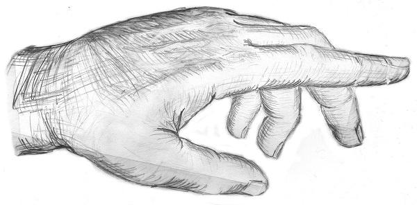 Finger, Hand, Zeigefinger