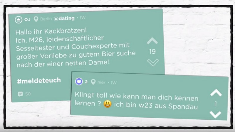 Jodel, Jodler, Studenten-App, anonymes soziales Netzwerk