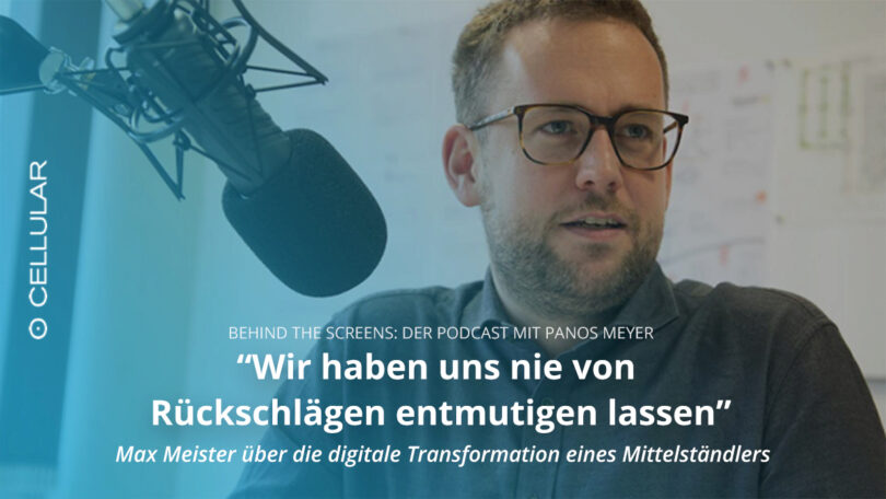 Max Meister, Ludwig Meister, Panos Meyer, Behind the Screens, Podcast