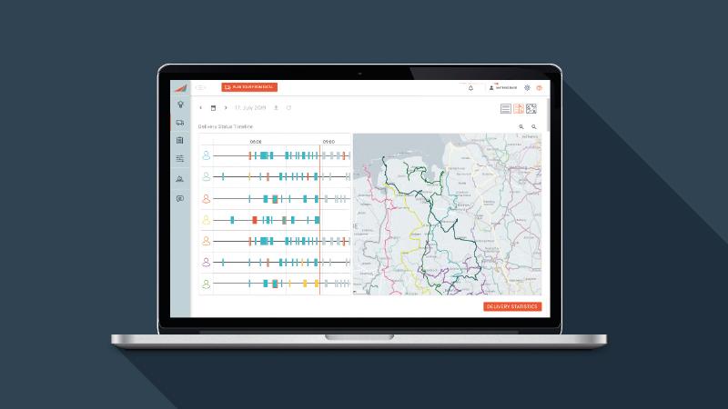 Smartlane, Routenplanung, GPS