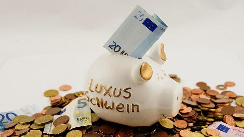 Sparschwein, Geld, Münzen, Investment, Zukunftsfonds