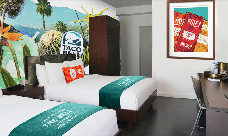 Taco Bell, Taco Bell Hotel, The Bell