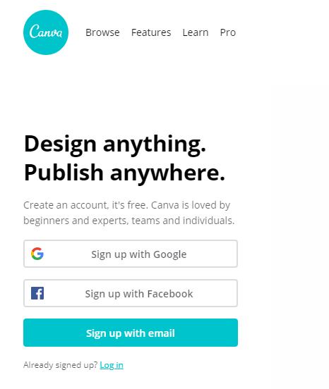 Canva, Infografik, Online-Grafik