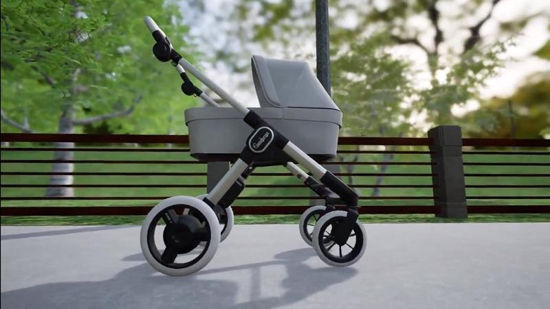 E-Kinderwagen, E-Stroller, Bosch, Kinderwagen