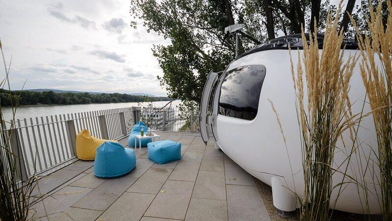 Ecocapsule, Tiny House, Bratislawa, Airbnb