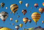 Heißluftballon, Heißluftballone, Ballone, Ballon, Aufsteiger