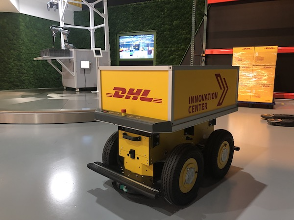 DHL, Logistik, Technologie, Zukunft