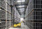 Lager, Logistik, Gabelstapler, Regale, Logistikzentrum, Reifen, Pakete, Amazon-Konto